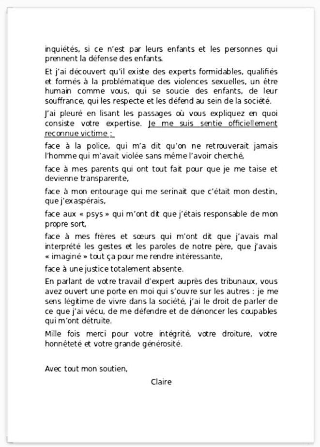 lettre de reconnaissance 2/2
