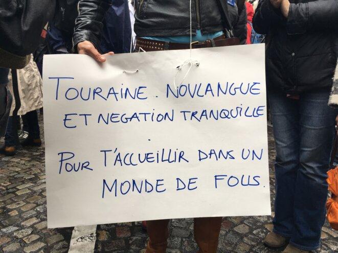 Dans la manifestation du 31 mai 2016 © CCC/MP