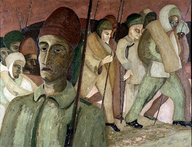 Henry Gowa, La marche de Saint-Nicolas.