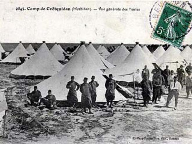 "Les tentes ""Marabout"""