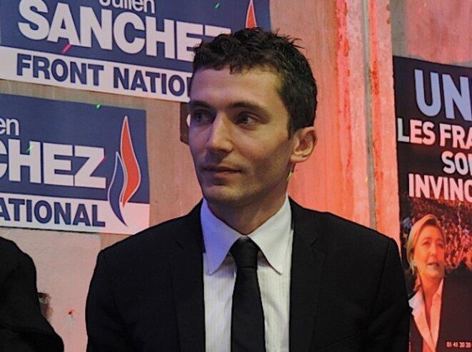 Le maire de Beaucaire, Julien Sanchez.