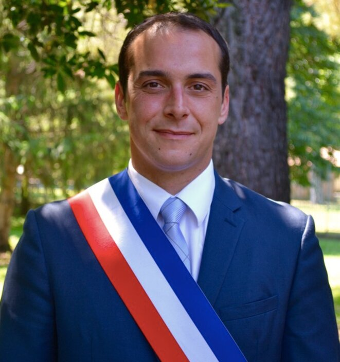 Joris Hébrard, maire du Pontet © Ville du Pontet