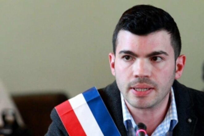 Fabien Engelmann, maire d'Hayange. © Reuters
