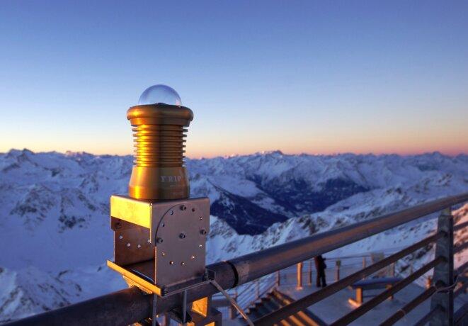 Caméra FRIPON à l'Observatoire du Pic du Midi © DR