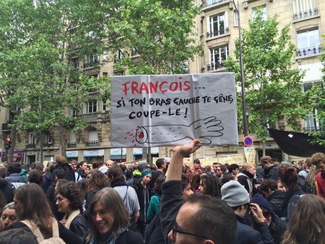 Le bras de François-Paris-14/06/2016 © Pascal Maillard