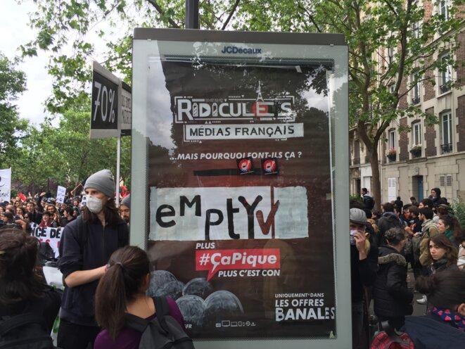 Détournement-Paris-14/06/2016 © Pascal Maillard