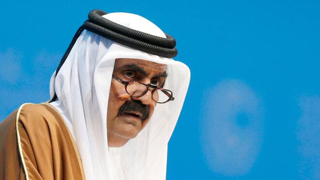 Hamad ben Khalifa al-Thani, émir du Qatar de 1995 à 2013 © Reuters