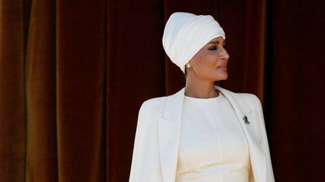 La cheikha Mozah al-Thani, épouse préférée de l'émir Hamad, avait jusqu'à la fin des années 1990 la haute main sur la fortune de son mari © Reuters