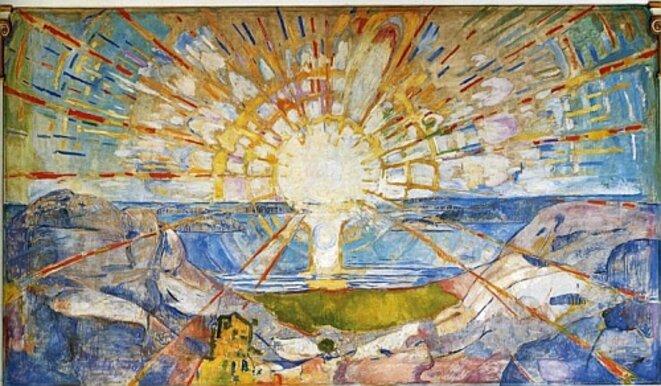 Le Soleil, Edward Munch (1910)