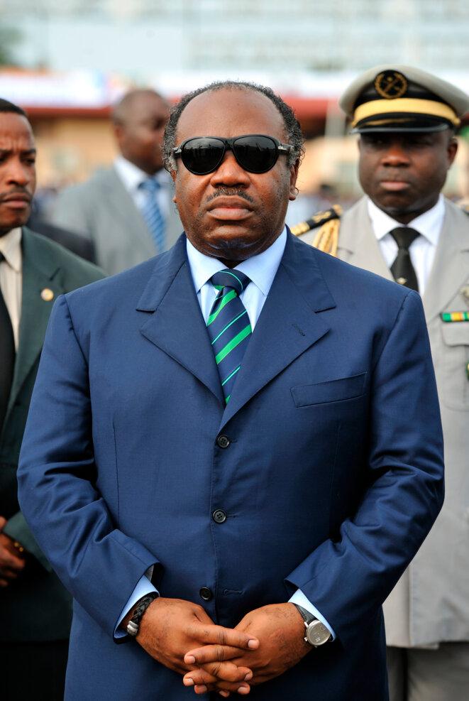 Ali Bongo, président du Gabon depuis 2009 et candidat à sa réélection. © Reuters