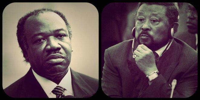 Ali Bongo et Jean Ping © Reuters