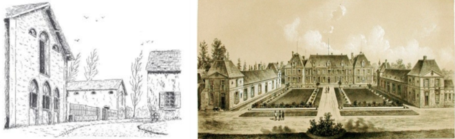 La Faisanderie des Moulineaux d'avant le Roi Fahd et le Château de Grignon d'avant l'Emir Al Thani ...