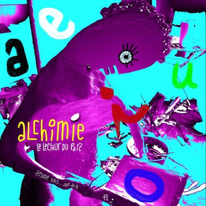 ARySQUE - épisode 3. Alchimie. Dessin sur ipad © ARySQUE