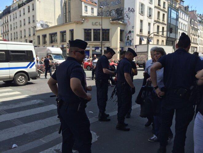 Fouilles systématiques rue du Faubourg-Saint-Antoine © EP