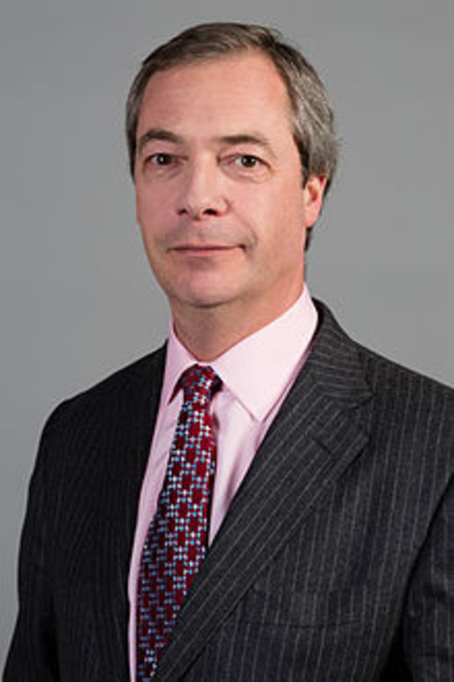 Nigel Farage en 2015