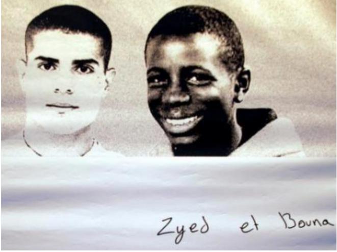 Zyed Benna et Bouna Traoré. © DR