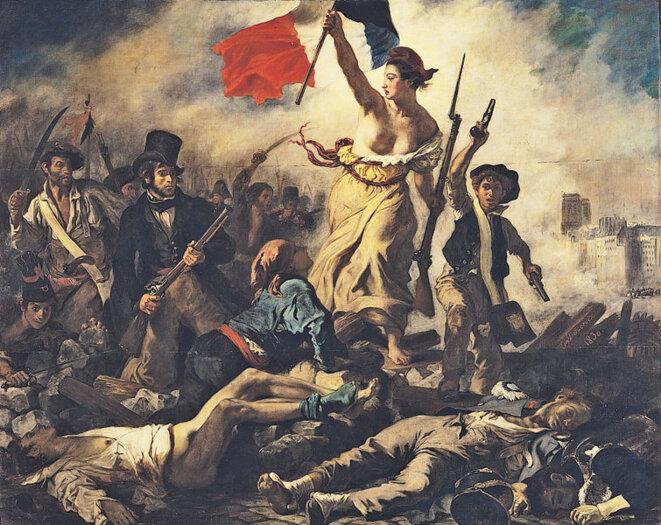 La Liberté guidant le peuple © Eugène Delacroix