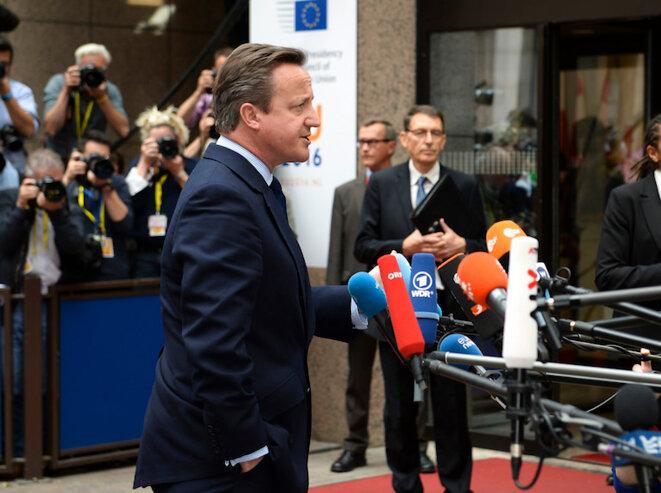 David Cameron arrivant au Conseil européen mardi 28 juin 2016 © Crown Copyright