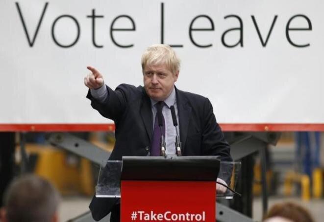 """Boris Johnson, firme partidario de Brexit, dijo hoy: """"No hay ninguna razón para apresurarse"""". © Reuters"""