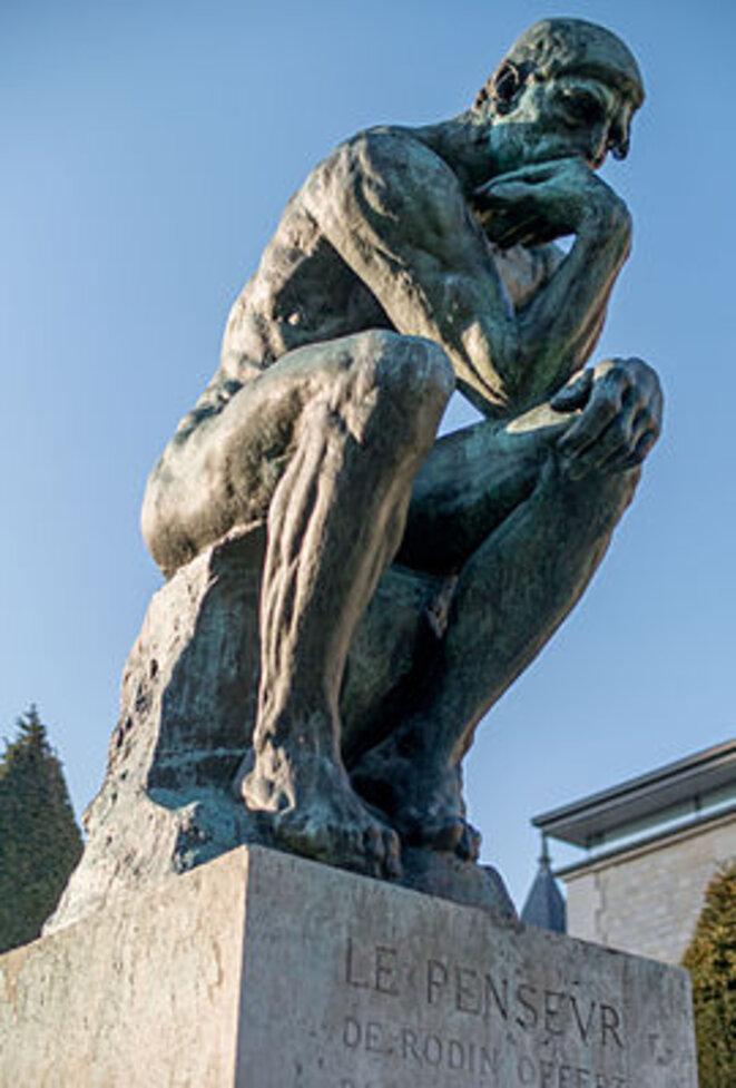 le-penseur-in-the-jardin-du-musee-rodin-paris-march-2014