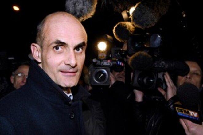 Jean-Michel Aldebert, chef de section financière du parquet de Paris en 2008 © Reuters