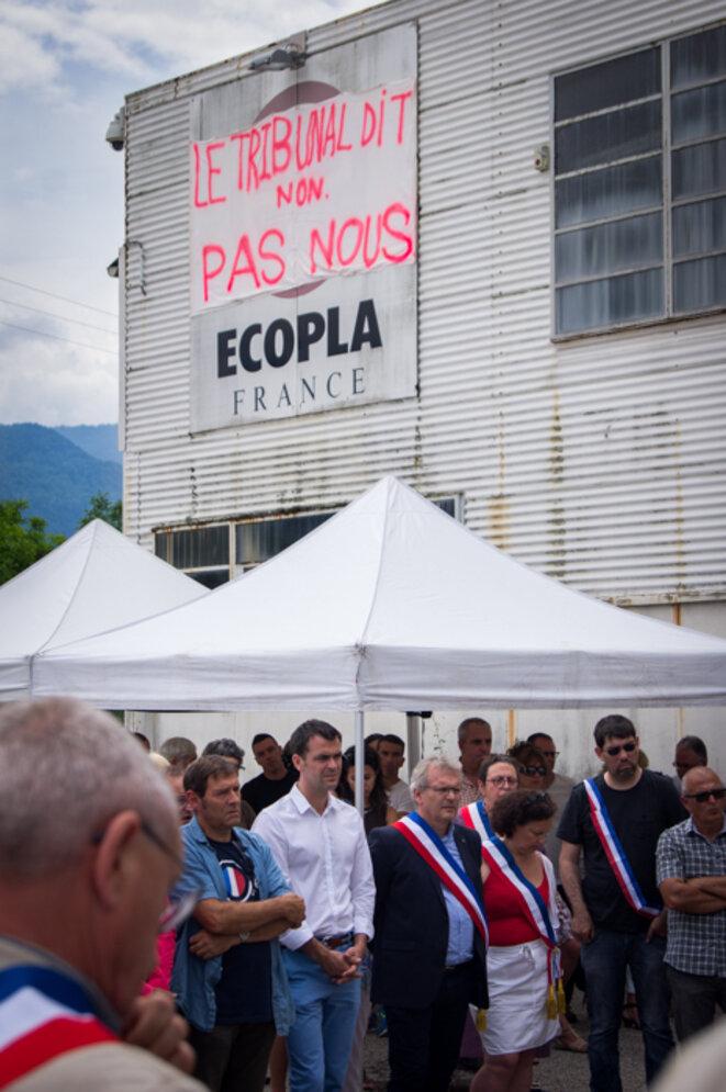 L'usine Ecopla, à St Vincent de Mercuze ( 38) © Chloé Lebas