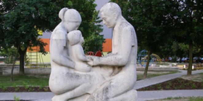 Tant que tout va bien dans un couple franco-allemand, ça va. Mais après... © Kelovy Wikimedia Commons PD