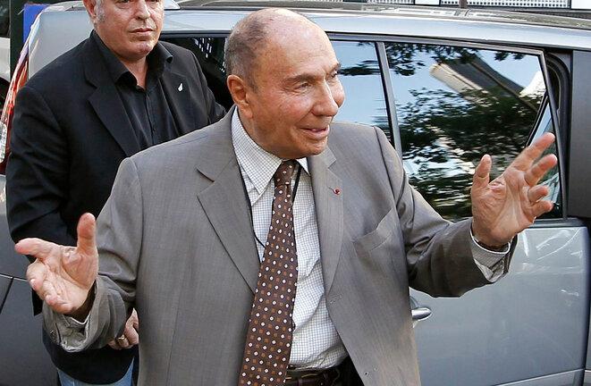 Serge Dassault, PDG du groupe Dassault, sénateur LR de l'Essonne et ancien maire de Corbeil-Essonnes (1995-2009) © Reuters