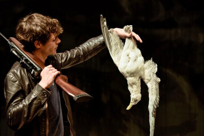"""Représentation de """"La Mouette"""" au Théâtre de l'Odéon © Arno Declair"""