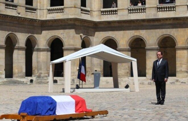 Cérémonie des Invalides, le 7 juillet.