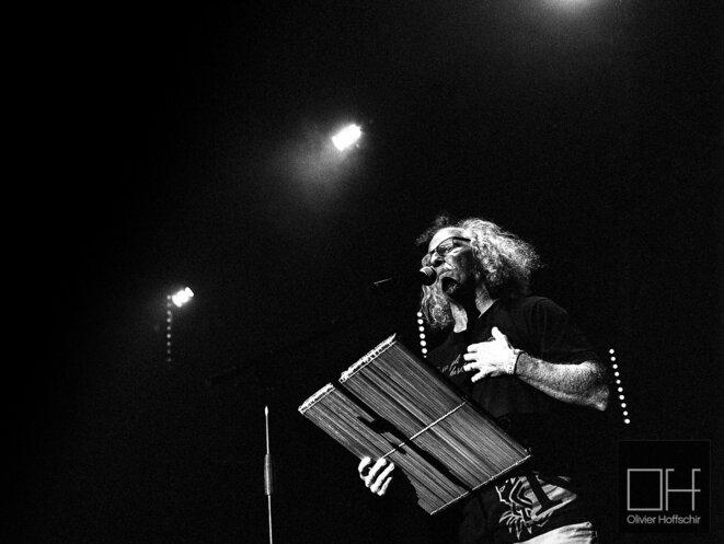Danyèl Waro au festival des musiques métisses en 2015 à Angoulême © Olivier Hoffschir