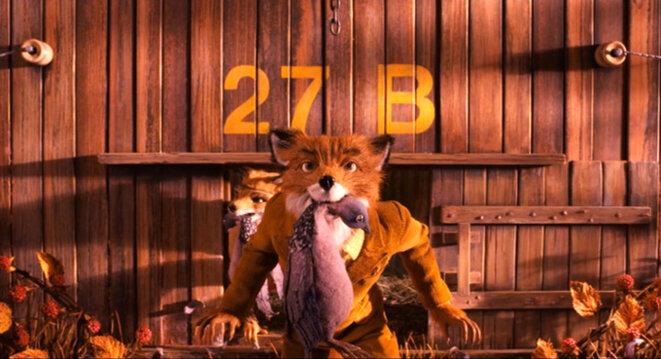 """""""Fantastic Mister Fox"""" de Wes Anderson © DR"""