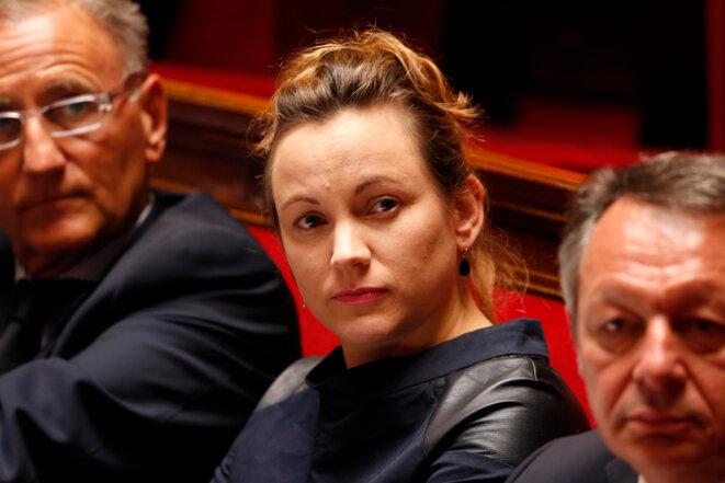 Axelle Lemaire en juillet 2014 à l'Assemblée. © Reuters