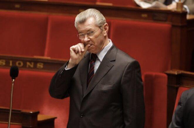 Le sénateur Henri de Raincourt (LR, ex-UMP) ancien ministre sous Nicolas Sarkozy © Reuters