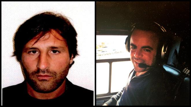 Arnaud Mimran, condamné dans l'affaire du CO2, et Avi Ben Ezra, recherché par la justice. © DR