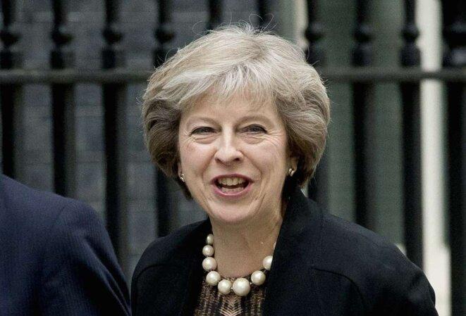 Theresa May succède à David Cameron. © Reuters