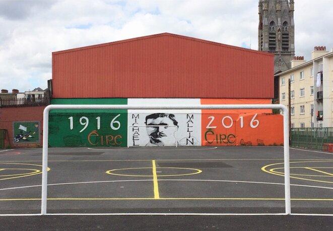 Dans les Liberties, quartier populaire de Dublin. © M.T. / Mediapart