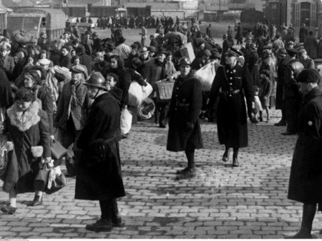 Rafle de juifs à Marseille en 1943