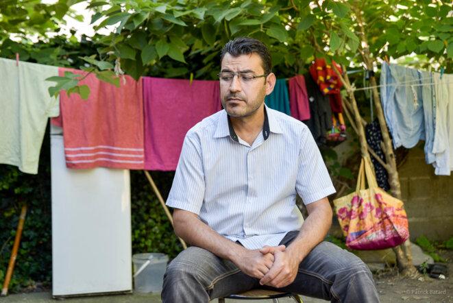 Omar a été expulsé, alors qu'il pensait être en paix jusqu'au 1er novembre. © Patrick Batard