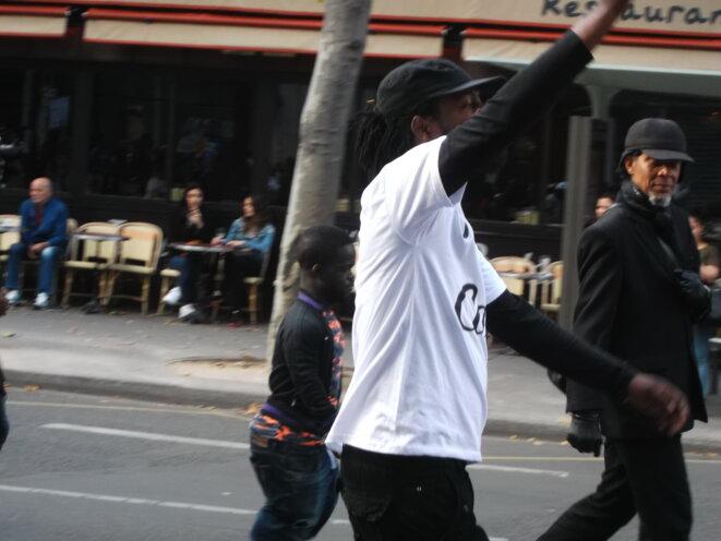 """14 juillet - manif """"Justice pour Caïs"""" - BX"""