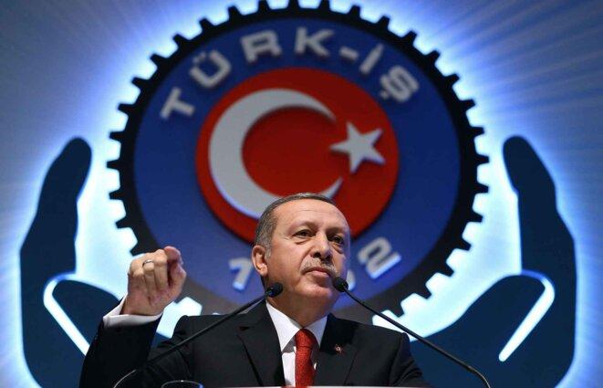 Erdogan alors qu'il vantait les bons aspects du régime hitlérien