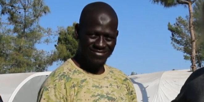 Omar Diaby, dit Omar Omsen, djihadiste niçois recruteur de l'EI. © DR