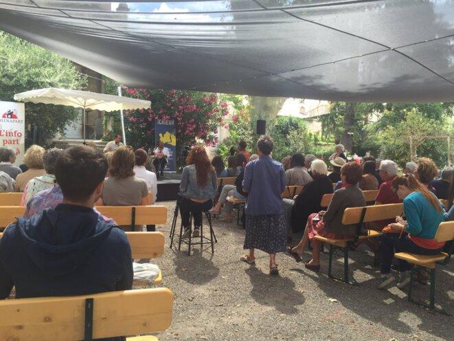 Le Crieur au Festival d'Avignon © Twitter