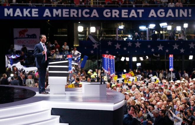Donald Trump Junior. © Reuters