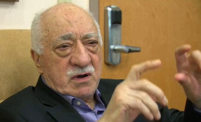 Fethullah Gülen chez lui en Pennsylvanie aux Etats-Unis, le 16 juillet 2016. © Reuters