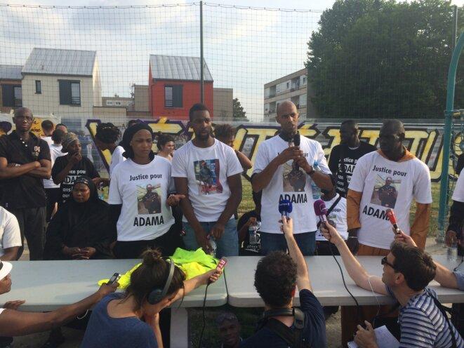 La famille d'Adama Traoré