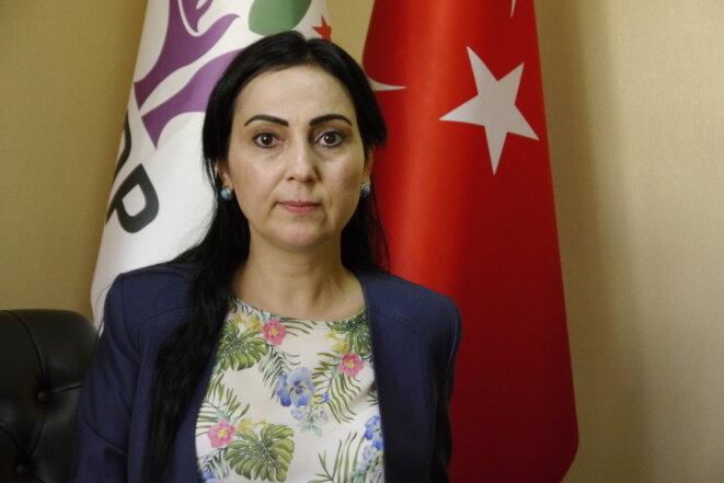 Figen Yüksekdağ, la coprésidente du HDP. © Amélie Poinssot