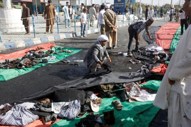 L'attentat commis à Kaboul a fait au moins 80 morts. © Reuters