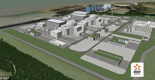Projet d'Hinkley Point © EDF