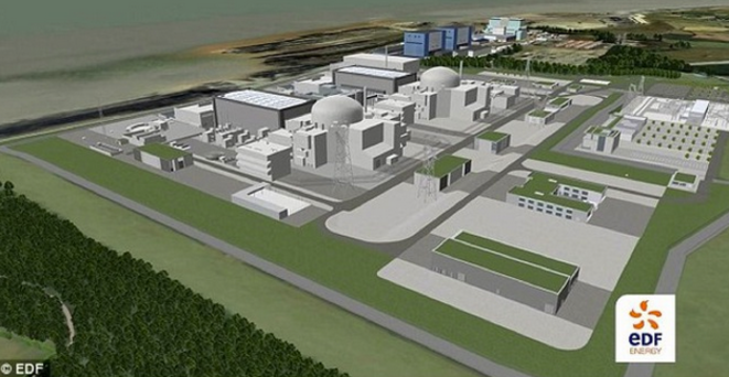 Projet d'Hinkley Point. © EDF